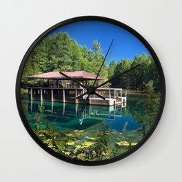 Kitch-iti-kipi Observation Raft Wall Clock