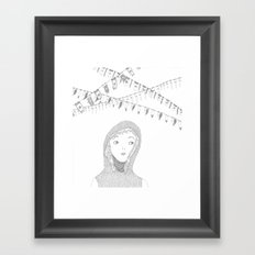 knight_01 Framed Art Print