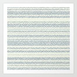 45 Degrees: Arctic Art Print