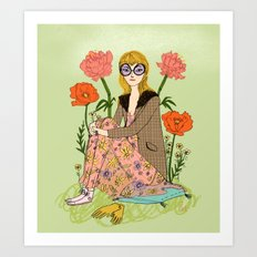 Spring Fashion Art Print