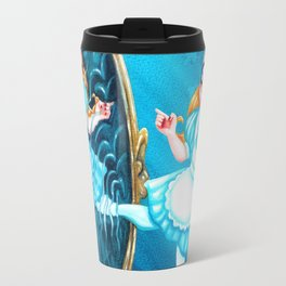 Alice through the Looking-Glass Travel Mug