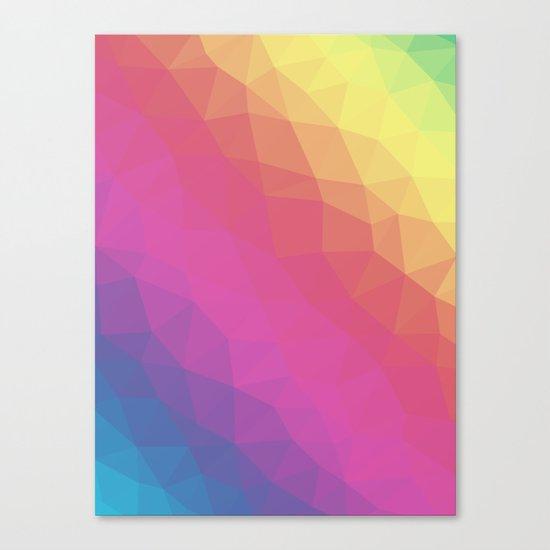 Spectrum Tris Canvas Print