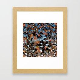 Newborn leaves Framed Art Print