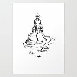 Bather Art Print