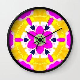 cheery chrysanthemum Wall Clock
