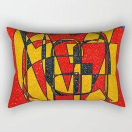 GERMANY - Glitter Rectangular Pillow