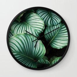 Leaves by Ren Ran Wall Clock