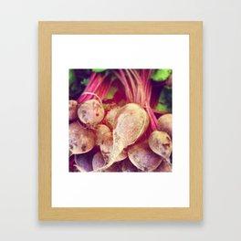 Farmers' Market Framed Art Print