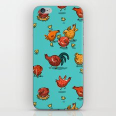 Chickens! iPhone & iPod Skin