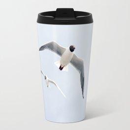 Flying seagulls Travel Mug