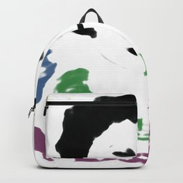 Vintage, retro, ghost woman, moden art Backpack