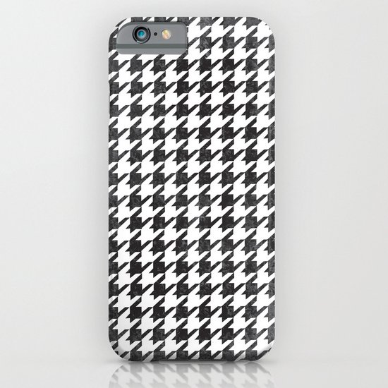 Rugged Houndstooth  iPhone & iPod Case
