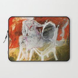 Woman & Chair Laptop Sleeve