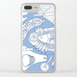 Smorgasbord Clear iPhone Case