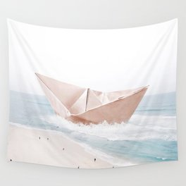 Let's sail away Wall Tapestry