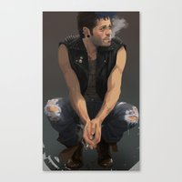 punk Canvas Prints featuring Punk by Pat-a-tat