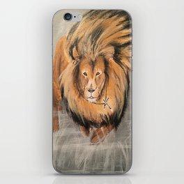 Roaring Like A Lion iPhone Skin