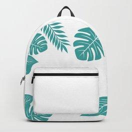 Paradise in Aqua Backpack