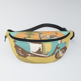 SCOOTER TROPICS Fanny Pack