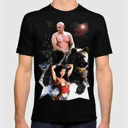 In Chains (WW with VP, Bear, Stream, Hammer and Sickle) T-shirt