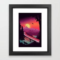 Passing Through Framed Art Print