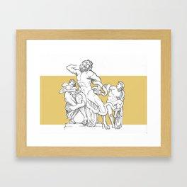Ancient in new format Framed Art Print