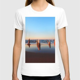 Reflected Remains on the Beach T-shirt