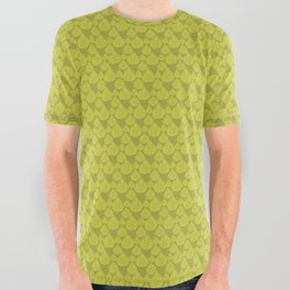 Green drops All Over Graphic Tee