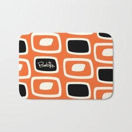 OrangeBlack Bombilla Bath Mat
