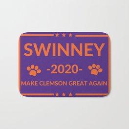 Make Clemson Great Again Swinney Election Gifts Bath Mat