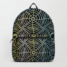 Color Burst Circle Web Backpack