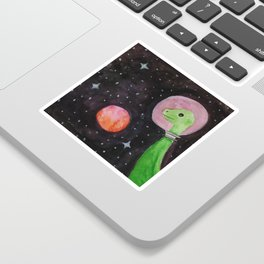 Space Dinosaurs Sticker
