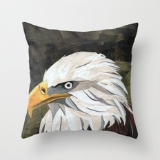 Eagle! Throw Pillow