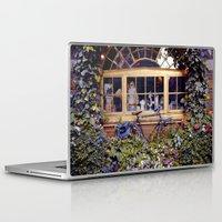 cycle Laptop & iPad Skins featuring cycle cycle by kotovska