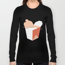 shape_series_04_takeaway box Long Sleeve T-shirt