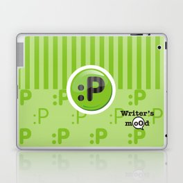 Green Writer's Mood Laptop & iPad Skin