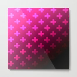 Plum Crazy Metal Print