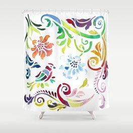 Orient Shower Curtain