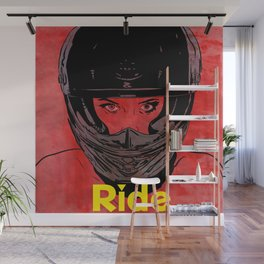 Ride / title Wall Mural