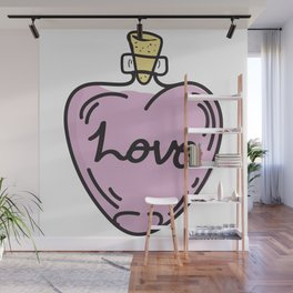 Love Potion Wall Mural
