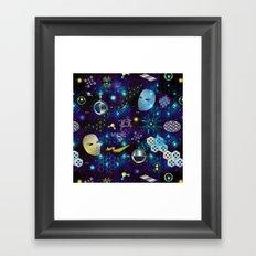 Cosmic Trip Framed Art Print