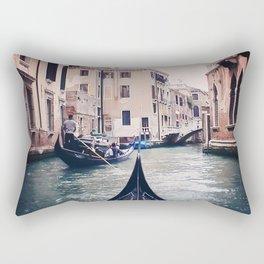 Venice by Gondola Rectangular Pillow