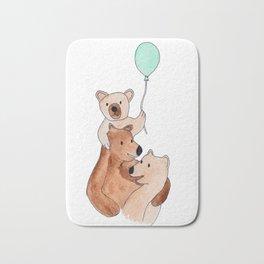 Three Bears Bath Mat