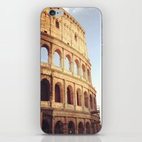 rome iPhone & iPod Skins featuring Rome  by Anna's design