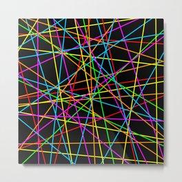 Lasers Metal Print