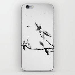 | time fission - or quantum memory, experiment no. one | iPhone Skin