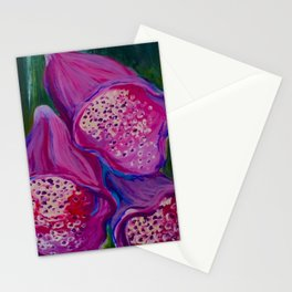 Foxgloves Stationery Cards