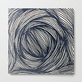 Zentangle #11 Metal Print
