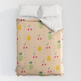 Fruity Spring Duvet Cover