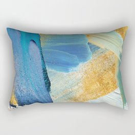 Easterly Abstract Rectangular Pillow